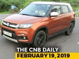 Video : Maruti Suzuki Vitara Brezza Sales, Ford Endeavour Facelift, Mahindra XUV300 Electric