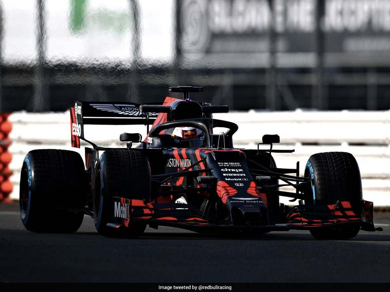 "Max Verstappen ""Very Positive"" After Testing New Red Bull Car At Silverstone"