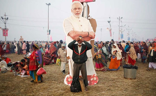 As Election Looms, Politics Infiltrates Kumbh Mela