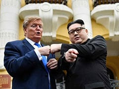 "Fake News: Kim, Trump Lookalikes Commit To ""Peace"" Ahead Of Hanoi Summit"