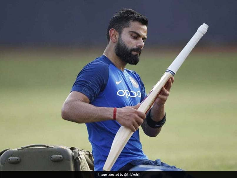 """Back To Work"": Virat Kohli Checks His Bat Ahead Of Australia Series"
