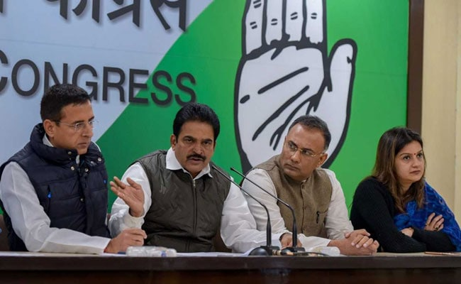 Top BJP Leaders Behind Attempts To Topple Karnataka Government: Congress