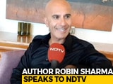 "Video : ""Use Tech As Servant, Don't Let It Be Your God"": Author Robin Sharma"