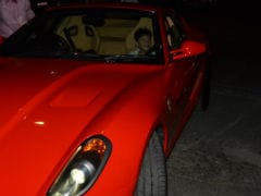 Sanjay Dutt's Son Shahraan Looks Happy In His Dad's Flashy Red Ferrari