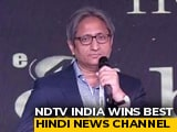 "Video : Ravish's Response To Hoardings That Said ""Ravish's Prime Time Ends Now"""