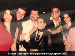 Sridevi Remembered By Brother-In-Law Sanjay Kapoor With An Old Family Pic