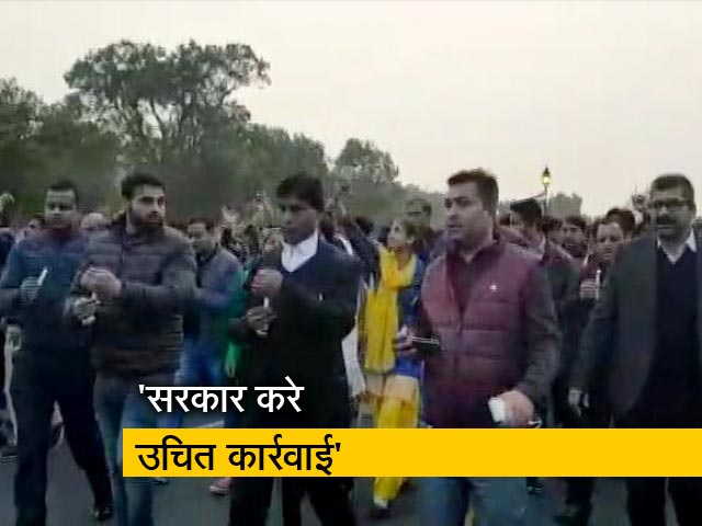 Videos : पुलवामा हमले को लेकर बीजेपी का कैंडल मार्च