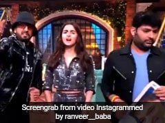 कपिल शर्मा ने रणवीर सिंह संग किया अतरंगी डांस, फिर यूं दिखाया देसी अंदाज- देखें Video