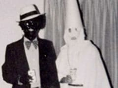 A US Governor's School Yearbook Page Shows Men In Blackface, KKK Robe
