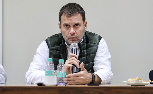At Mega Meet With Party Leaders, Rahul Gandhi's Message Of Inclusiveness