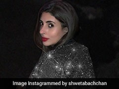 All That Glitters Is Shweta Bachchan Nanda In This Pic