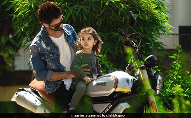 Shahid Kapoor And Daughter Misha Are Riding Into The Weekend Like This