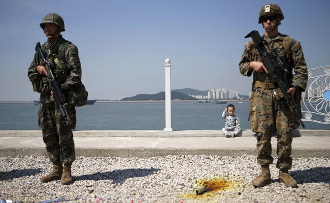 South Korea, US sign cost-sharing deal for American troops