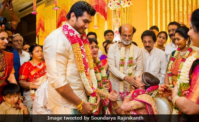 Soundarya Rajinikanth Posts Pics From Wedding Album
