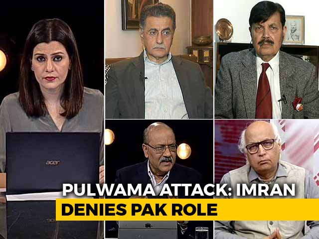 "Video : Imran Khan Denies Pak Link To Pulwama, India Says ""Lame Excuses"""