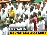"Video : ""Karnataka Government Lost Majority"": Opposition BJP Shouts Down Governor"