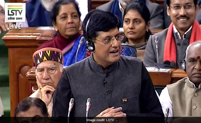 No Tax For Annual Income Upto R 5 Lakh: Piyush Goyal In Interim Budget