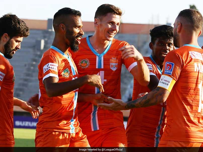 Chennai City Score Three Goals Past Hapless Mohun Bagan To Consolidate Lead