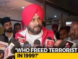 "Video : ""What About Kandahar"": Navjot Sidhu Parries Attacks On Pulwama Remarks"