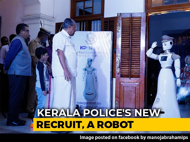 Video : Kerala Police Has A New Recruit: A Robot