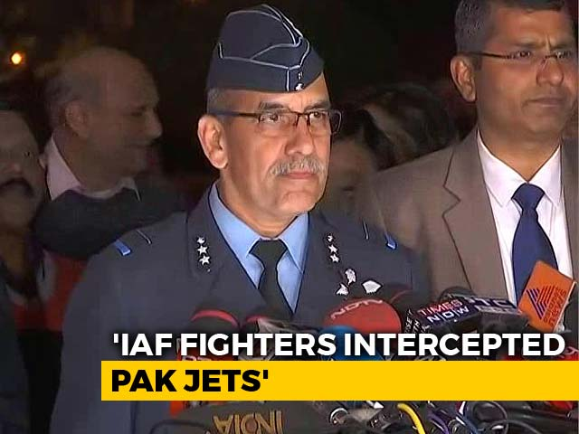 "Video : ""Look Forward To The Return Of Wing Commander Abhinandan"": Air Force"