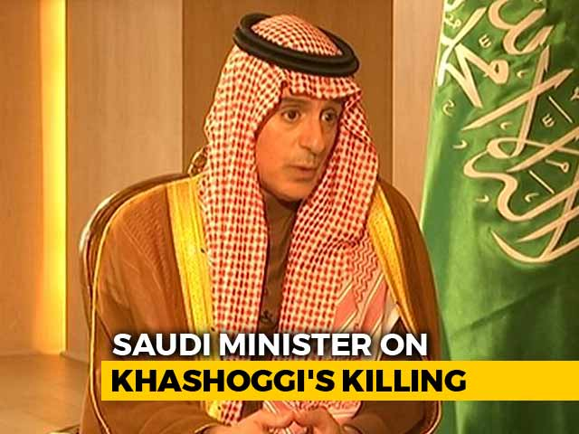 "Video : Saudi Crown Prince ""Didn't Order"" Khashoggi Killing: Minister To NDTV"