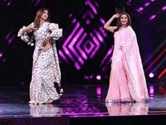 माधुरी दीक्षित और शिल्पा शेट्टी ने 'मैं आई हूं यूपी बिहार लूटने' पर किया जोरदार डांस, Video हुआ वायरल