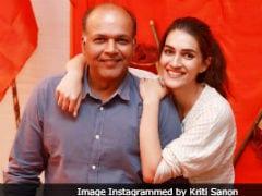 Kriti Sanon Posts Birthday Wish For <i>Panipat</i> Director Ashutosh Gowariker