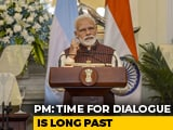 Video: Time For Talks Over, Says PM Modi After Pulwama Attack