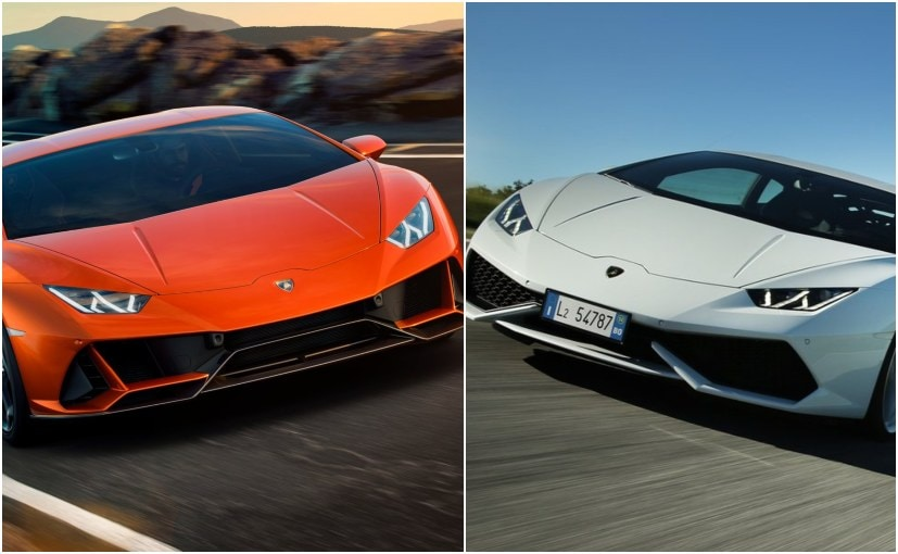 Here's how much the Huracan has changed with the Evo, since it originally arrived in 2014