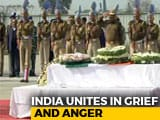 Video : Hundreds Gather To Pay Tributes As Bodies Of CRPF Soldiers Reach Homes