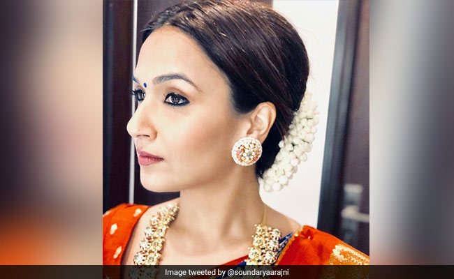 Rajinikanth's Daughter Soundarya Confirms Wedding To Vishagan Vanangamudi Is A Week Away