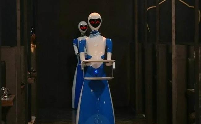 Robots Serve Food At This Chennai Restaurant