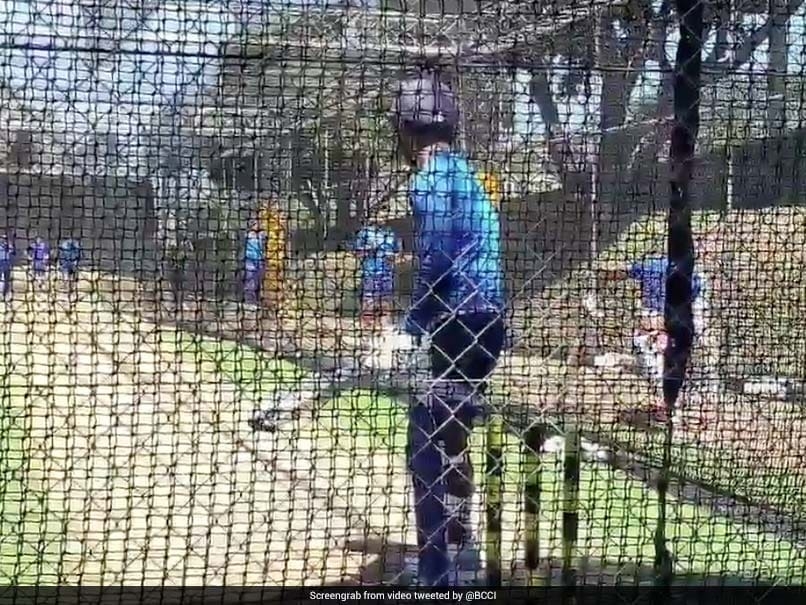 Rishabh Pant Attempts A Switch-Hit At The Nets Ahead Of T20I Series vs New Zealand. Watch