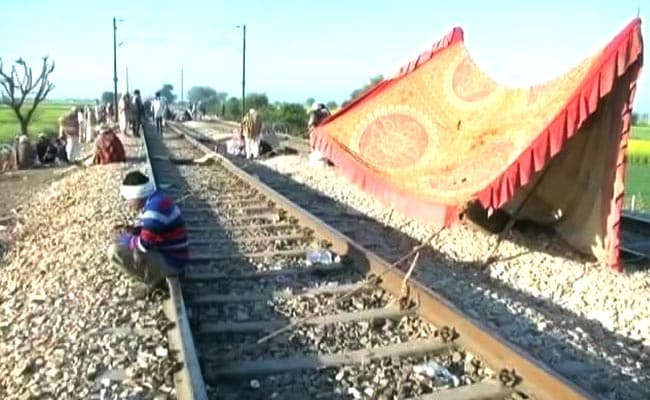 Gujjar Quota Agitation Enters Eighth Day, Rail Services Affected