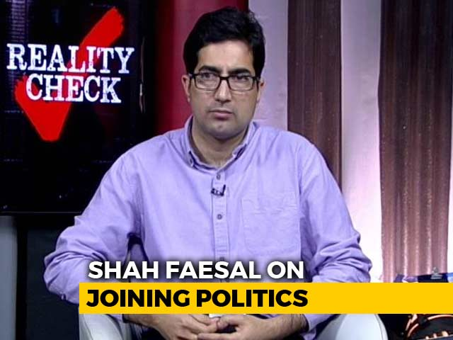 Video : Exclusive: Ex-IAS Officer Shah Faesal Announces He's Forming A New Party