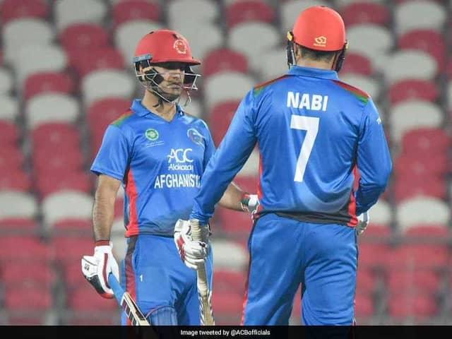 1st T20I: Mohammad Nabi, Najibullah Zadran Power Afghanistan To Five-Wicket Win Against Ireland