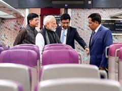 """Vande Bharat Express Dedicated To Nation On Time"": Minister Piyush Goyal"