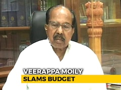 Video: Centre Wants To Hide State Of Economy: Congress' Veerappa Moily Slams Budget