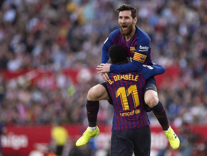 Watch: Lionel Messi Scores A Stunning Volley To Prove That He Is The GOAT