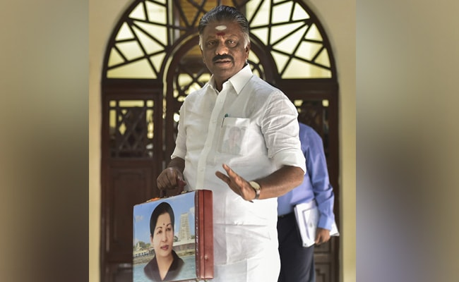 Jayalalithaa 'Guiding Beacon' Of Tamil Nadu Government: O Panneerselvam