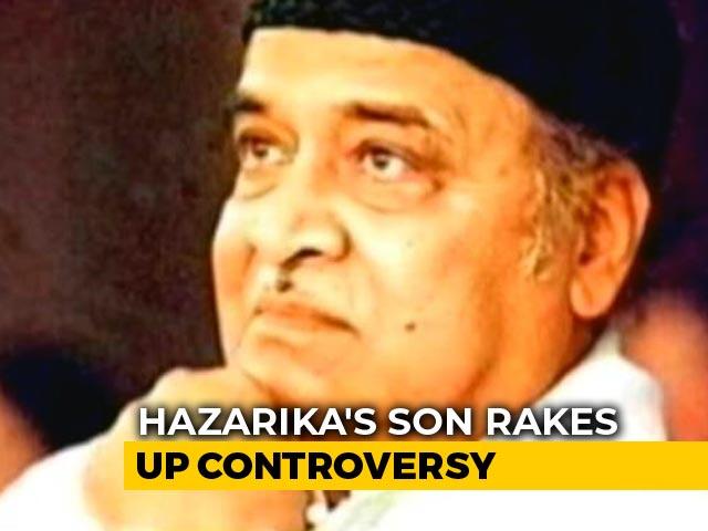 "Video : ""Decision To Award Bharat Ratna Cheap Thrills"": Bhupen Hazarika's Son"