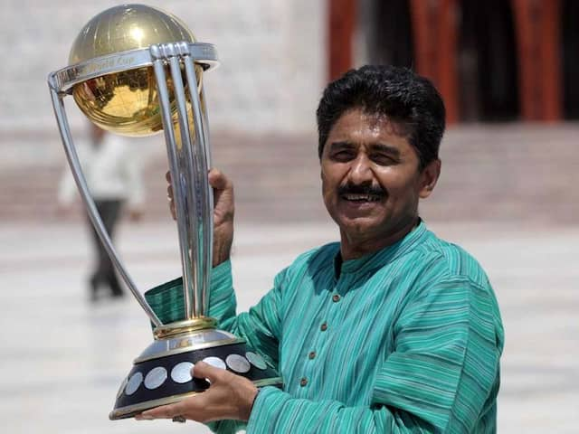 Photos Of Ex-Pakistani Cricketers Removed From Nagpur Stadium