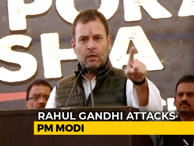 Video : PM Modi Lies Everywhere, Has No Credibility Left: Rahul Gandhi