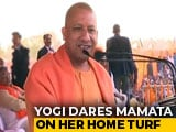 Video : Yogi Adityanath, Blocked By Mamata Banerjee, Drives Into Bengal For Rally