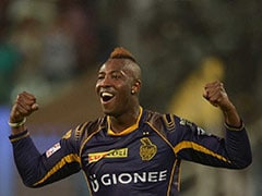 KKR Remind Opponents About Andre Russell