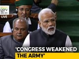 Video : PM Refers To Rafale Deal, Says Congress Doesn't Want Strong Armed Forces
