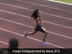 बिजली की रफ्तार से दौड़ता है ये 7 साल का बच्चा, 13 सेकंड में पूरी की 100 मीटर की रेस, देखें VIDEO