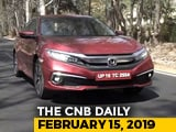 Video : Honda Civic Launch, Triumph Warranty, Tata Tiago Sales