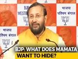 Video : In Mamata Banerjee vs CBI, BJP Brings Up A Red Diary, Pen Drive